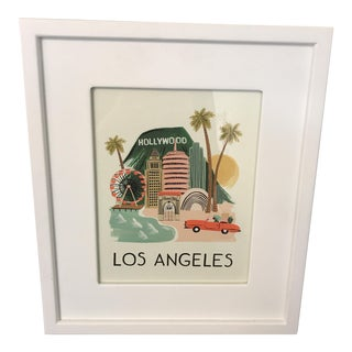 Framed Rifle Paper Co. Hollywood Print