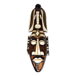 African Carved Wall Sculpture
