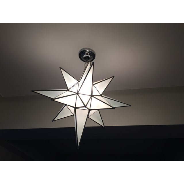 Moravian Star Light Fixture Chairish
