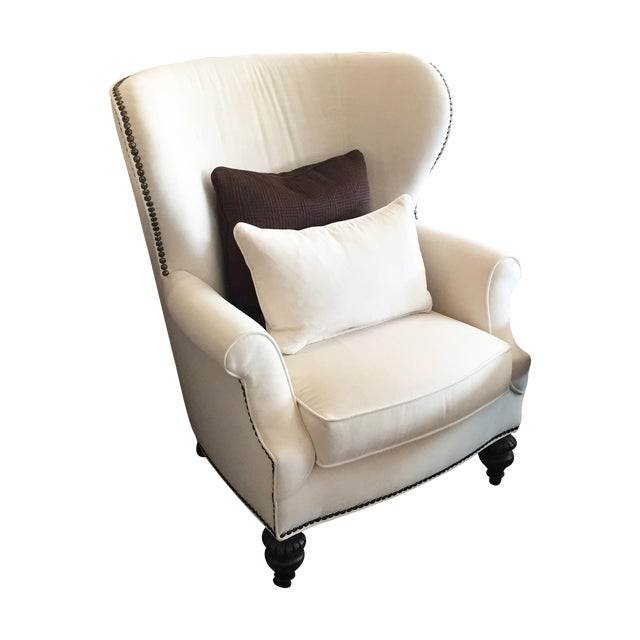 """Image of Thomasville """"Dinesen"""" Wingback Chair"""