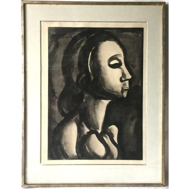 Georges Roualt Portrait of Woman 1922 - Image 2 of 5