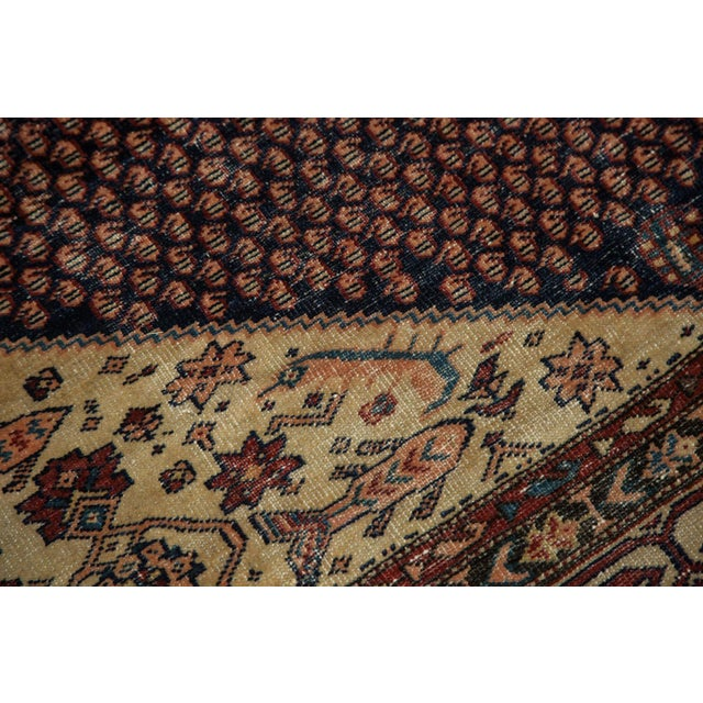 """Vintage Mission Malayer Square Rug - 5'5"""" x 6'7"""" - Image 7 of 10"""