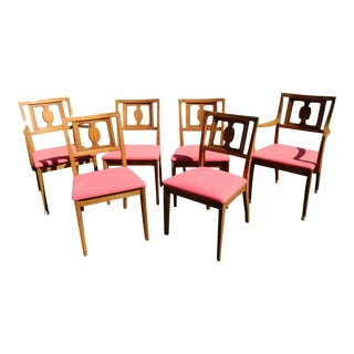 Drexel Butternut Dining Chairs - Set of 6From the Meridian Collection for