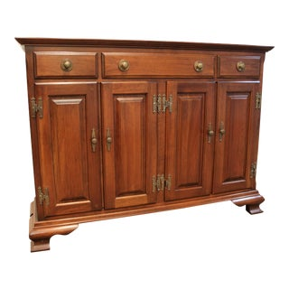 Solid Cherry Console Cabinet by Harden