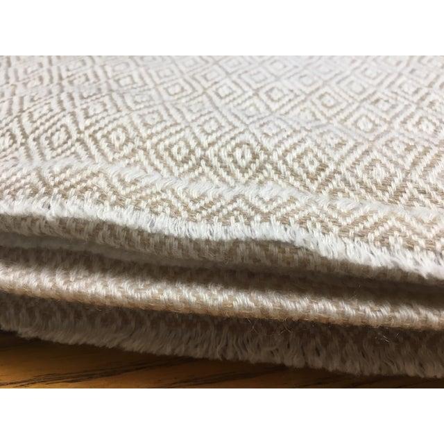 Diamond Design Cashmere Blend Blanket - Image 3 of 9