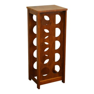 Danish Modern Teak Wine Rack