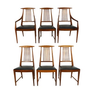 Kipp Stewart for Calvin Furniture Dining Chairs - Set of 6