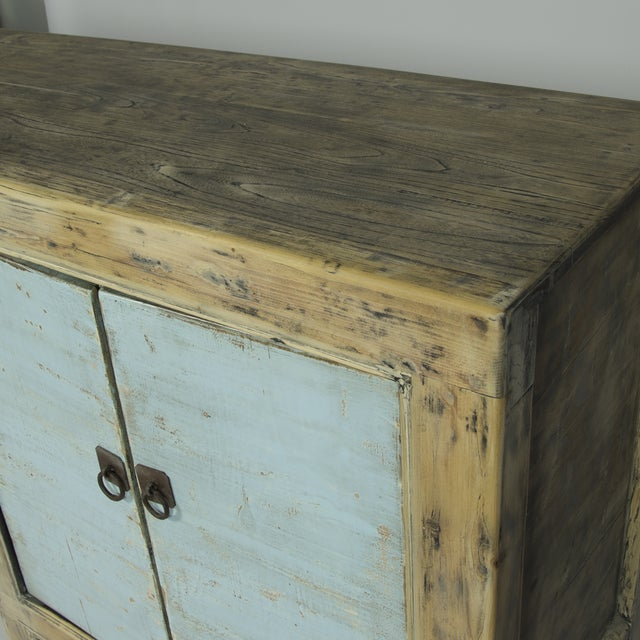 Blue Distressed Sideboard - Image 3 of 3