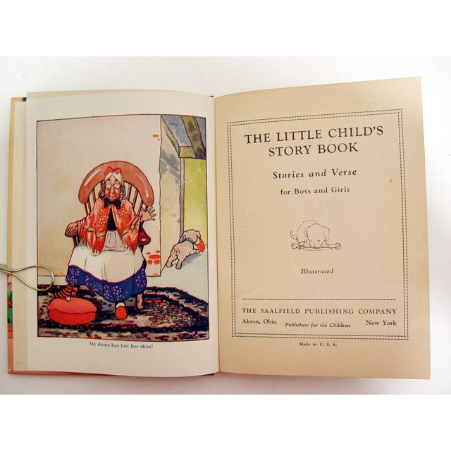 """Little Child's Story Book"" 1935 Book - Image 4 of 7"