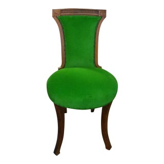 Antique Grosfeld House Style Splayed Leg Chair