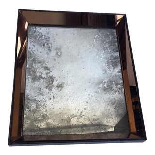 Gorgeous Rose Gold Antique Glass Mirror
