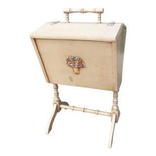 1933 Wood Sewing Cabinet