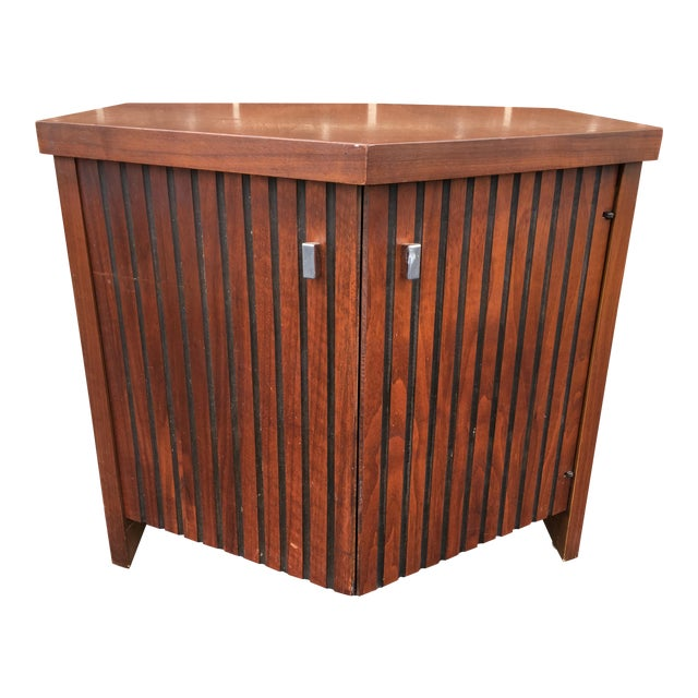 Vintage Lane Walnut Nightstand or Side Table - Image 1 of 5