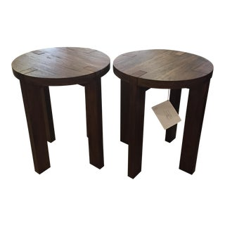 Bernhardt Furniture Side Tables - A Pair