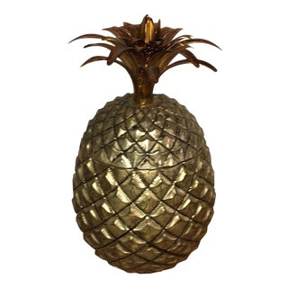 Italian Mauro Manetti Pineapple Ice Bucket