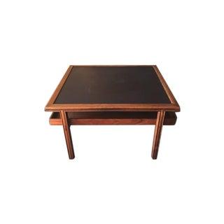 Mid Century Walnut Brown Saltman Coffee Table