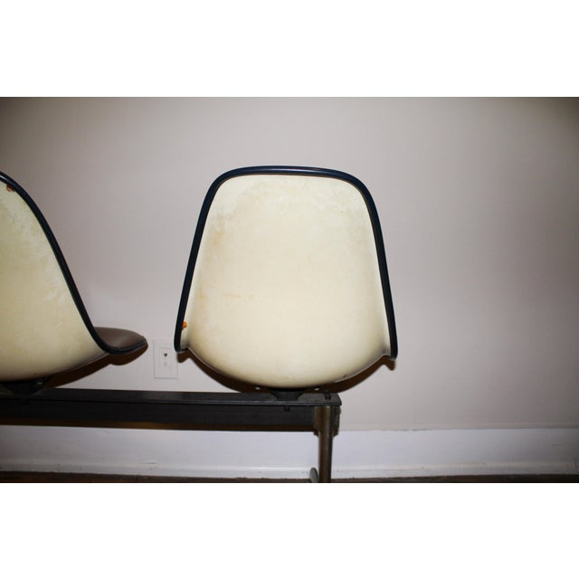 Vintage Eames Tandem Bench Chair - Image 8 of 11