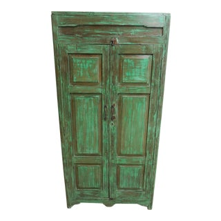 Antique Primitive Wardrobe Cupboard