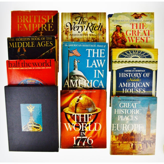 Vintage Illustrated History Hardcover Coffee Table Books - Group of 10 - Image 7 of 11