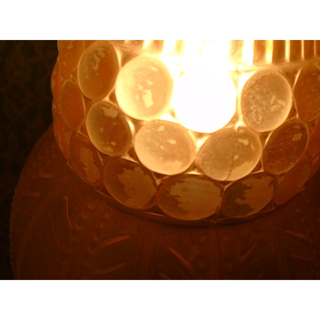 Art Deco Glass Table Lamps - Pair - Image 7 of 9