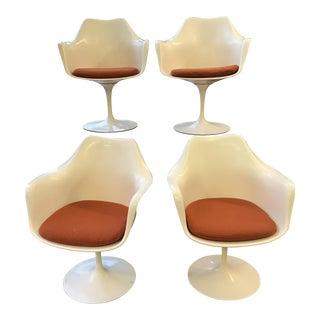 Knoll Eero Saarinen Tulip Armchairs - Set of 4