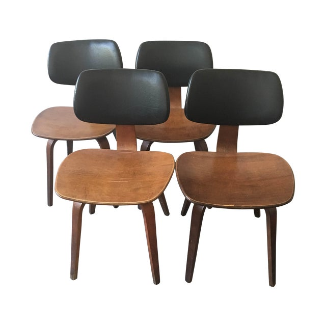 Thonet Bentwood Dining Chairs - Set of 4 - Image 1 of 8
