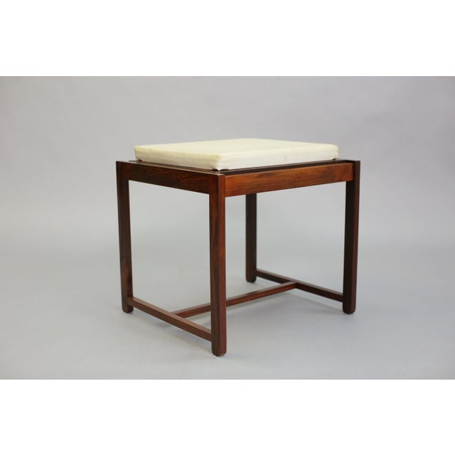Danish Reversible End Table / Ottoman - Image 8 of 8