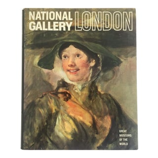 """"""" National Gallery London """" Vintage 1969 Rare Collector Hardcover Art Book"""