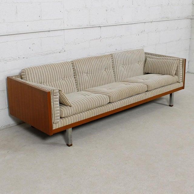 Jydsk of Denmark Interform Collection Teak Case Sofa - Image 6 of 8