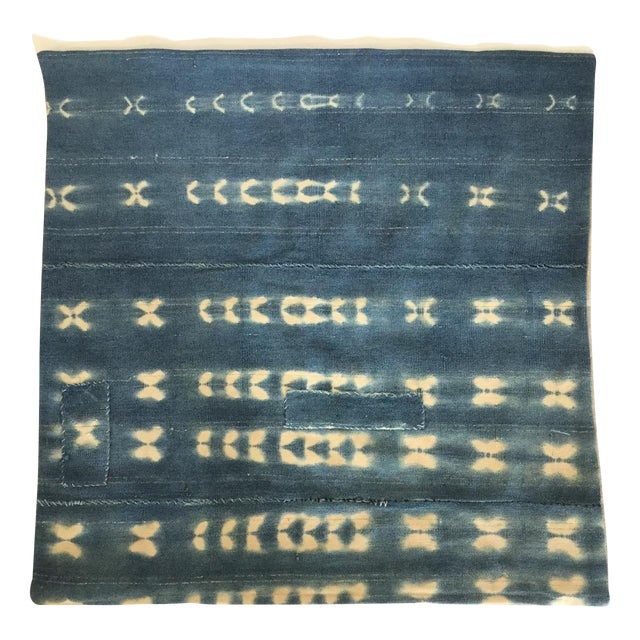 Image of Vintage Indigo Pillow Cover
