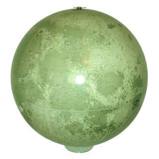 Vintage 1960's Lunar Globe Moon Space Exploration