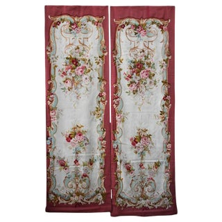 19th Century Floral Aubusson Panels - A Pair