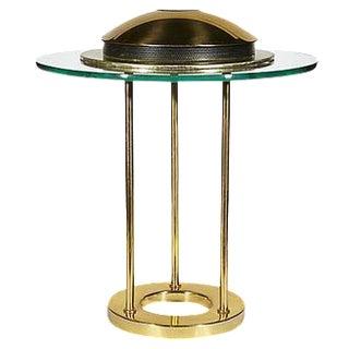 George Kovacs Glass Disc Table Lamp