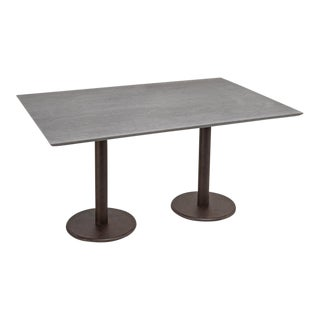 Sarreid Ltd. Porcelain & Metal Dining Table