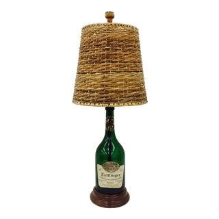 Vintage Taittinger Champagne Bottle Lamp