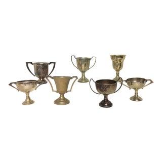 Antique Petite Trophies - Set of 7