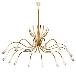 Oscar Torlasco 14-Arm Chandelier