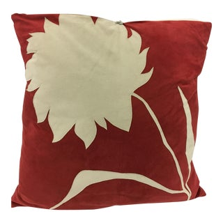 Michele Varian Suede Pillow