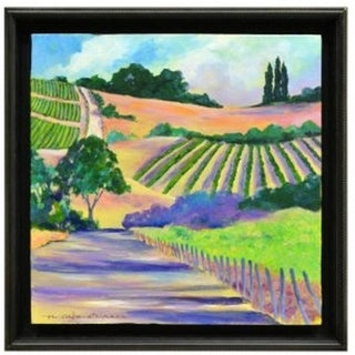 Framed Italian Landscape by N. Cabe-Atkinson