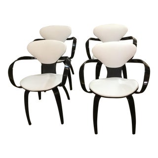 Norman Cherner Mid-Century Plywood Chairs - Set of 4