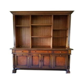 South Cone Sevilla Credenza Bookcase in Cognac