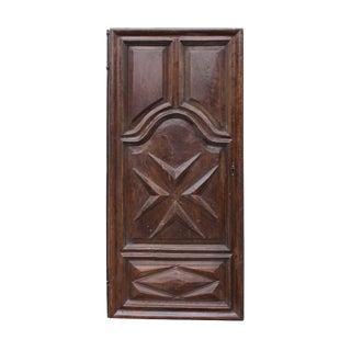 Antique Walnut Door
