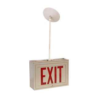Ceiling Mounted Exit Sign