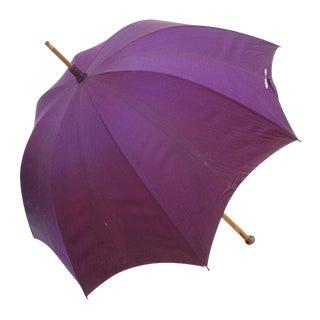 Antique Men's Wooden Parasol Umbrella