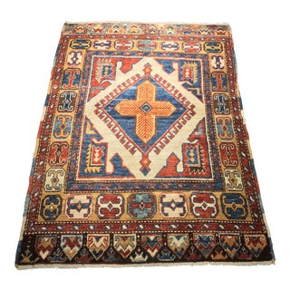 "Bellwether Rugs Vintage Turkish Oushak Small Area Rug- 3'9"" X 5'3"""