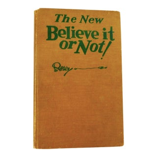 1931 Ripley's the New Believe It or Not