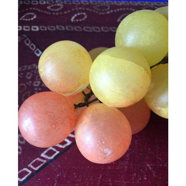 Orange and Yellow Marble Grapes - Image 4 of 5