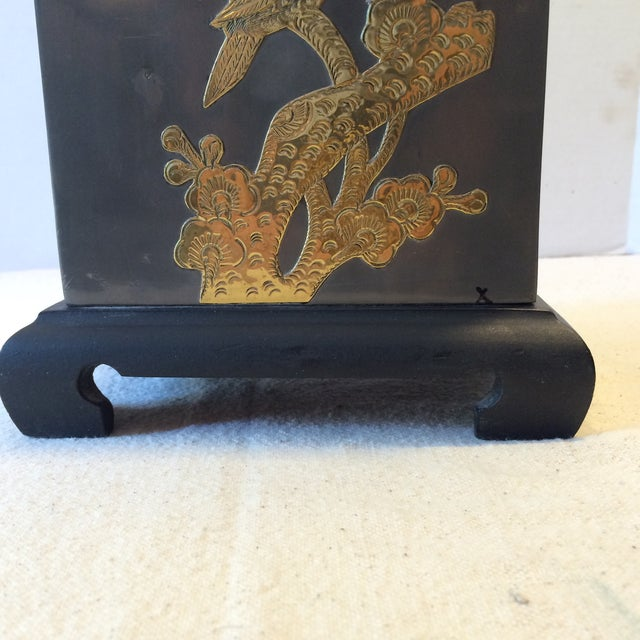 Mid-Century Fredrick Cooper-Style Asian Lamp - Image 9 of 11