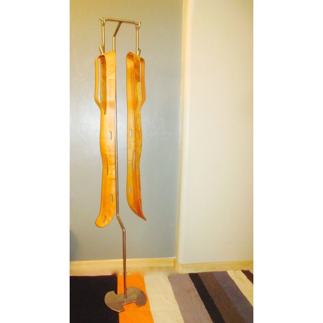2 Eames Leg Splint Custom Stand Evans Sculpture - Image 8 of 9