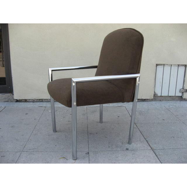 1970s Chrome Armchairs - Set Of 6 - Image 2 of 3